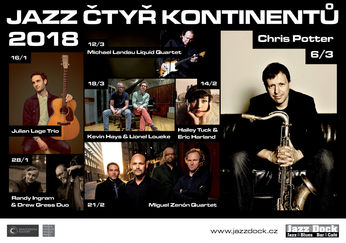 JAZZ OF FOUR CONTINENTS
