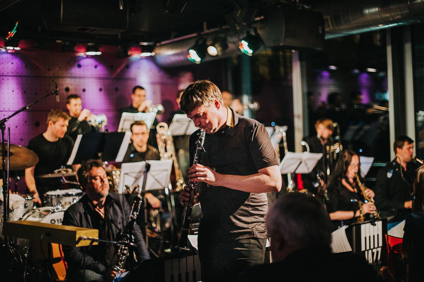 Foto & Video: Jazz Dock Orchestra ft. Niels Klein