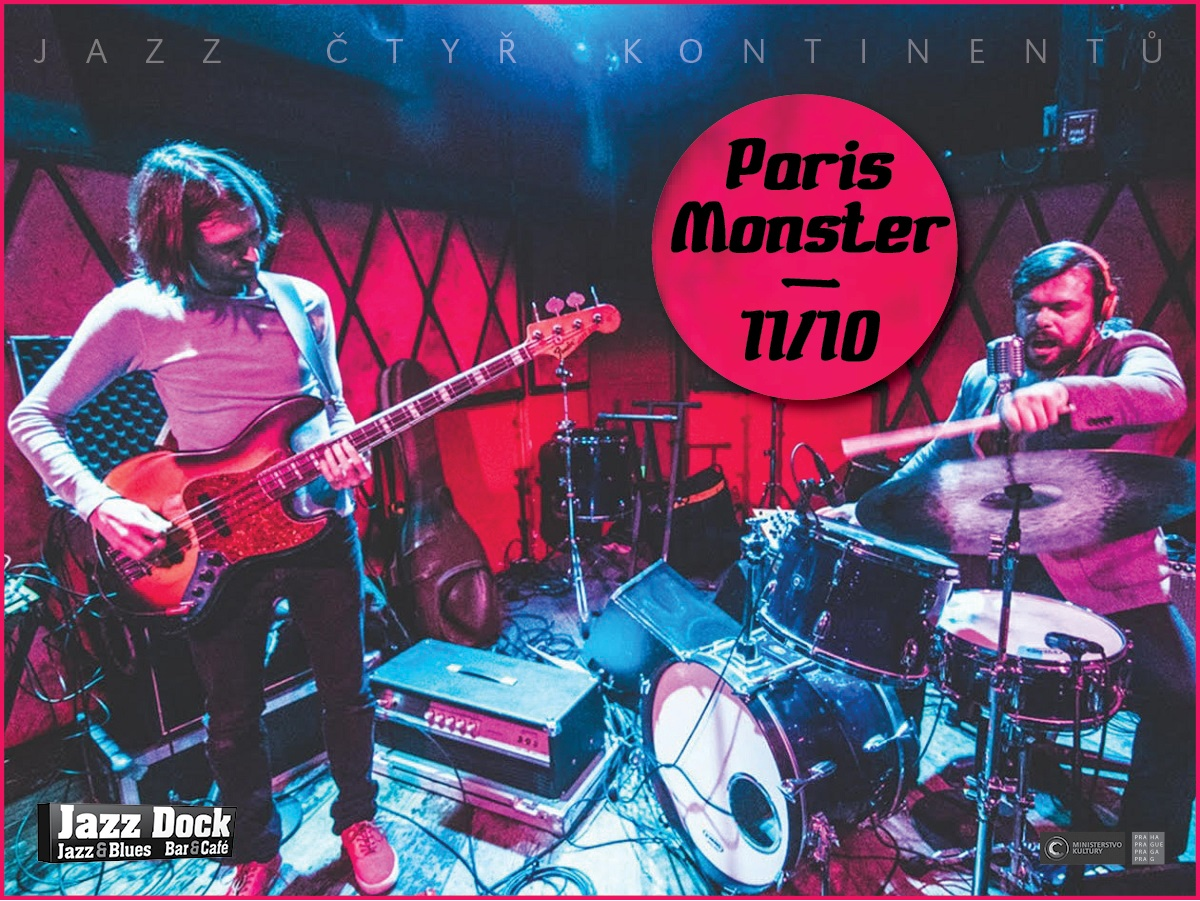 Paris Monster (USA):JAZZ OF FOUR CONTINENNTS