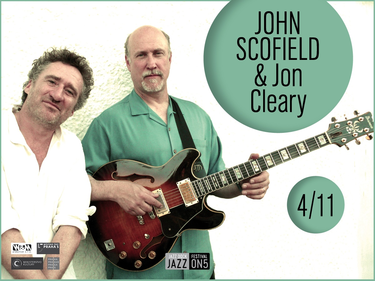 John Scofield & Jon Cleary (USA/UK):JAZZ ON5