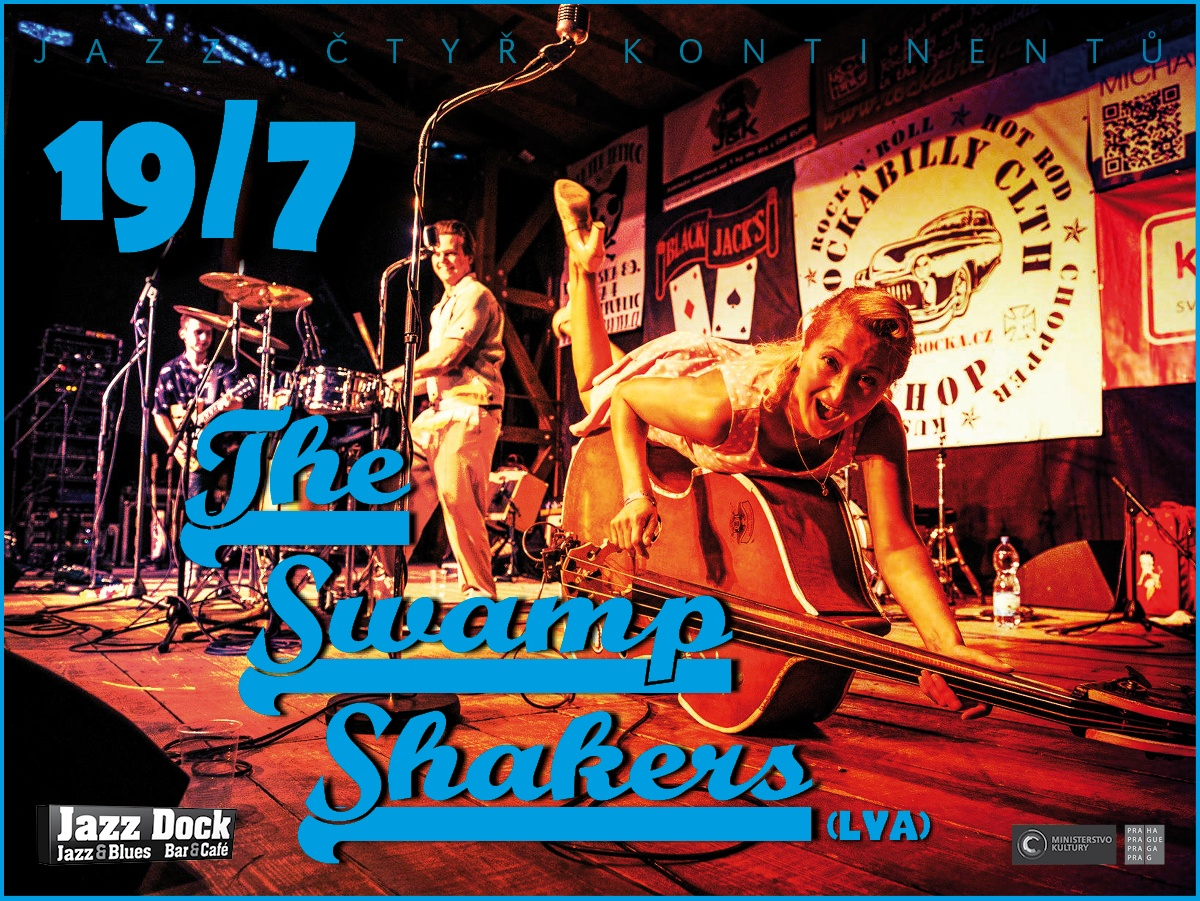 The Swamp Shakers (LVA):JAZZ OF FOUR CONTINENTS