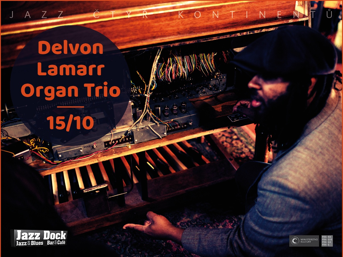 Delvon Lamarr Organ Trio (USA):JAZZ OF FOUR CONTINENTS