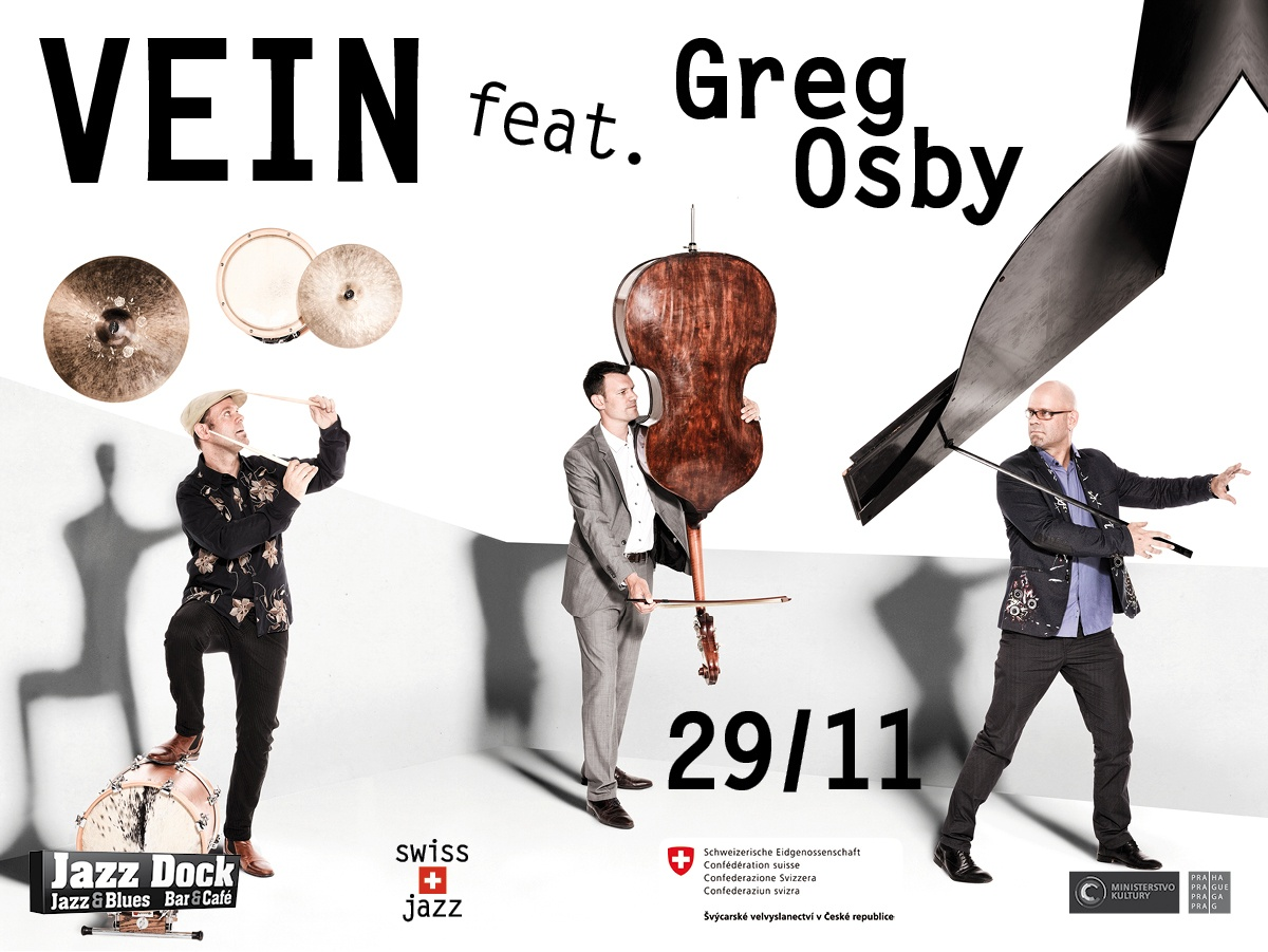 Vein feat. Greg Osby (CH/USA):SWISS JAZZ