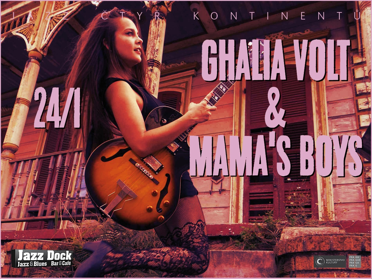 Ghalia Volt & Mama's Boys (USA):JAZZ OF FOUR CONTINENTS