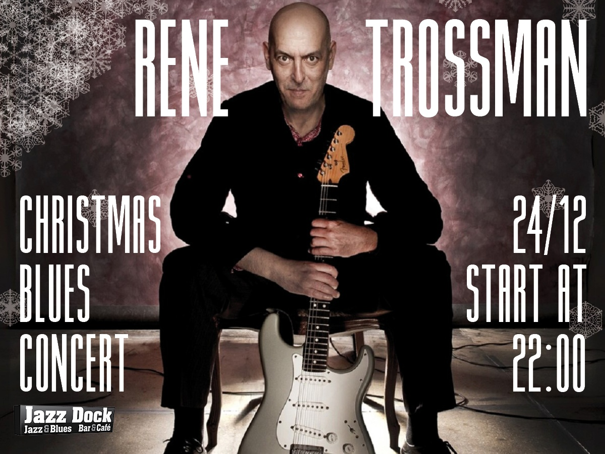 Rene Trossman Christmas Blues Concert