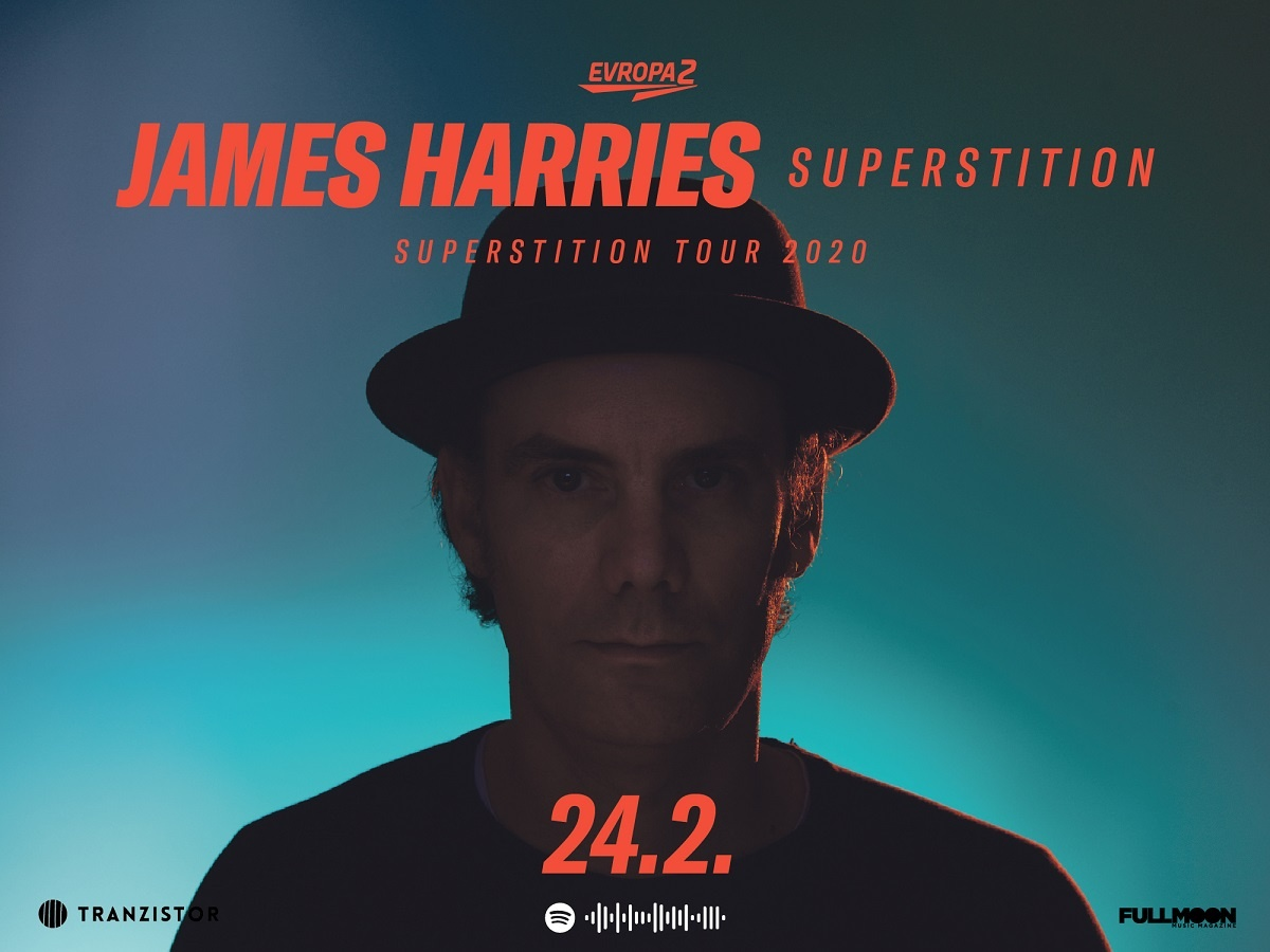 James Harries Band – New  CD release