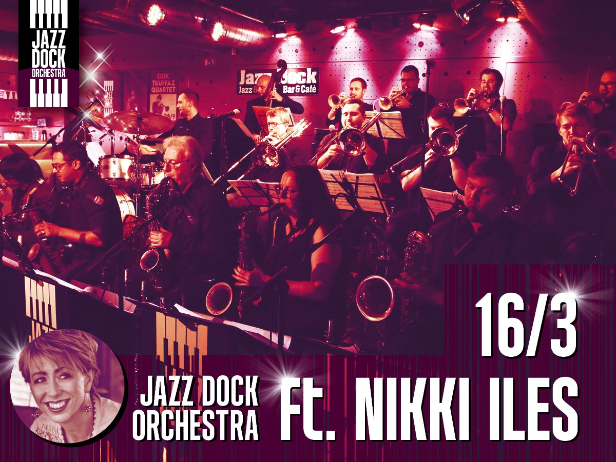 JAZZ DOCK ORCHESTRA ft. Nikki Iles