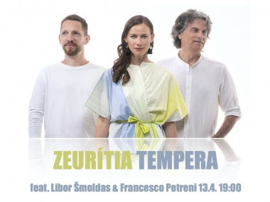 Zeurítia Tempera feat. Francesco Petreni:JAZZ OF FOUR CONTINENTS