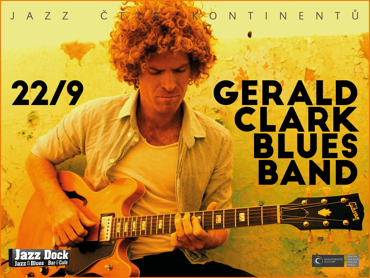 Gerald Clark Blues Band ::JAZZ ČTYŘ KONTINENTŮ