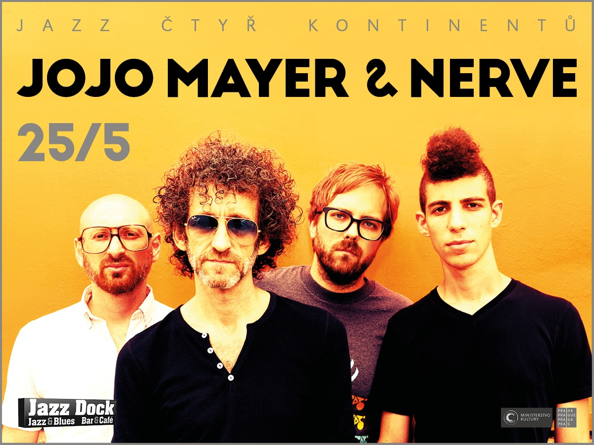 Jojo Mayer & Nerve (CH/USA):JAZZ OF FOUR CONTINENTS