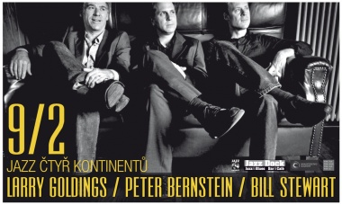 JAZZ ČTYŘ KONTINENTŮ: Larry Goldings / Peter Bernstein / Bill Stewart (USA)