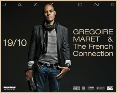 JAZZ ON5:Gregoire Maret & the French Connection (CH/USA/FRA/POL)