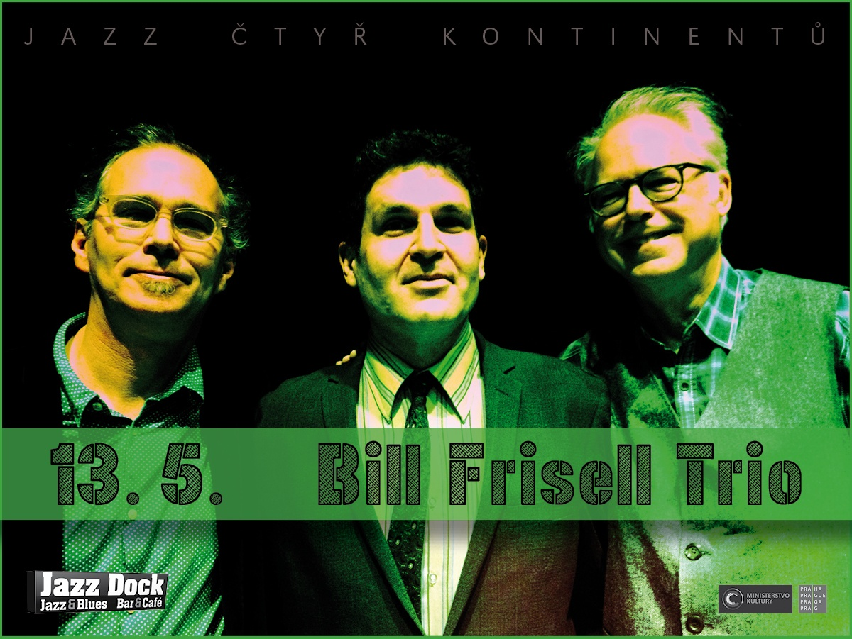 JAZZ ČTYŘ KONTINENTŮ::BILL FRISELL & KENNY WOLLESEN (USA)