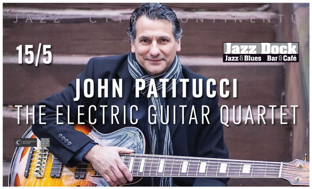 JAZZ OF FOUR CONTINENTS::JOHN PATITUCCI ELECTRIC GUITAR QUARTET (USA)