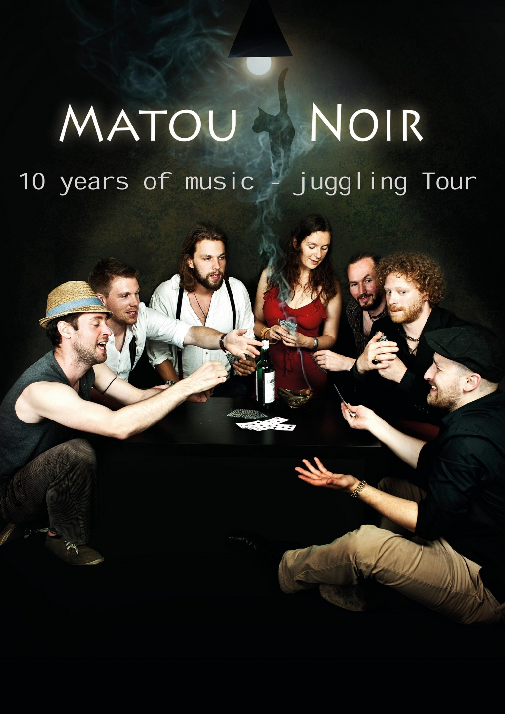 Matou Noir  (D/CZ) - celebrating 10 years of band existence