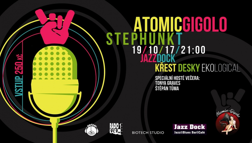 Atomic Gigolo & Stephunk T (CZ/USA/SK/UK) - NEW CD RELEASE