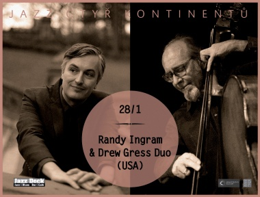 Randy Ingram & Drew Gress Duo (USA):JAZZ OF FOUR CONTINENTS
