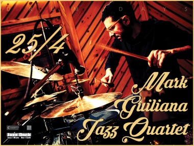 Mark Guiliana Jazz Quartet (USA):DRUM DAYS