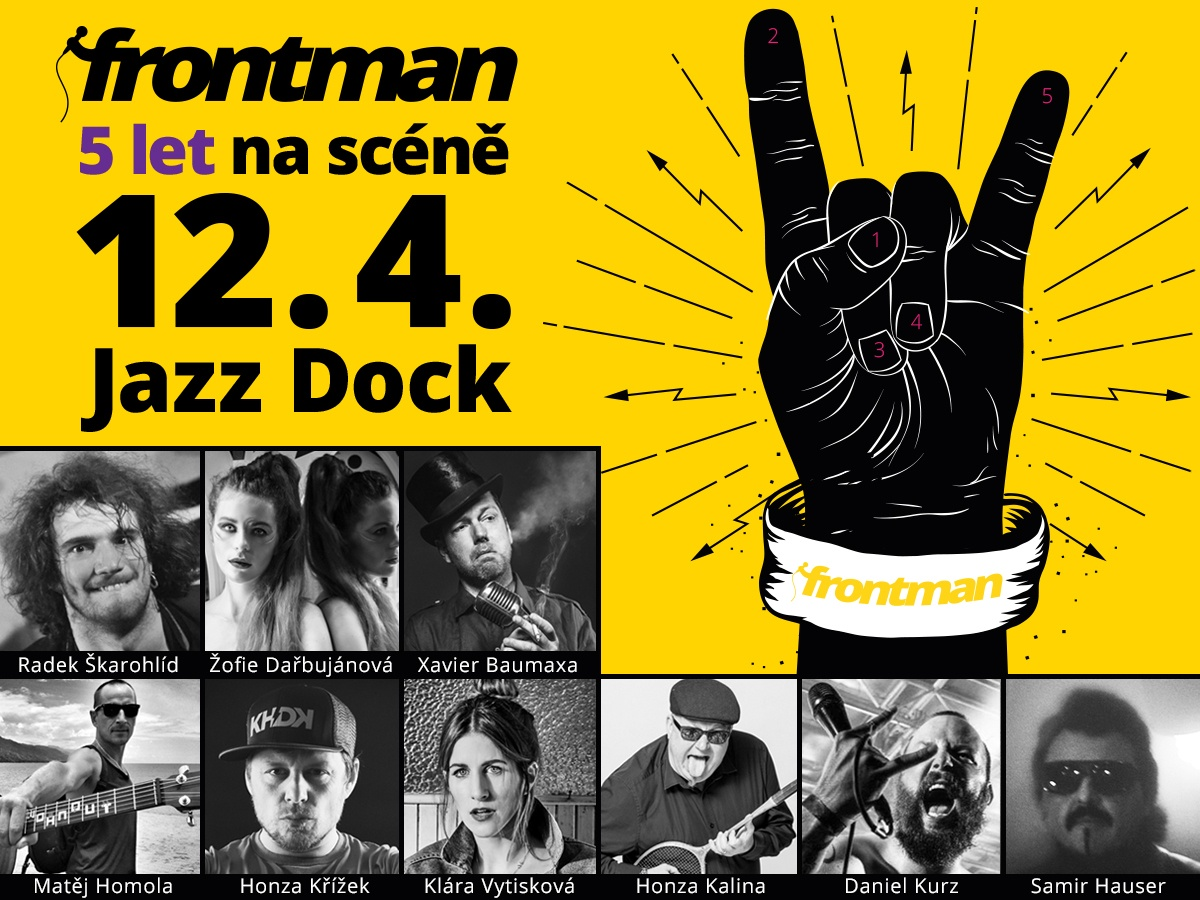 Frontman.cz: the fifth birthday of the magazine for active musicians