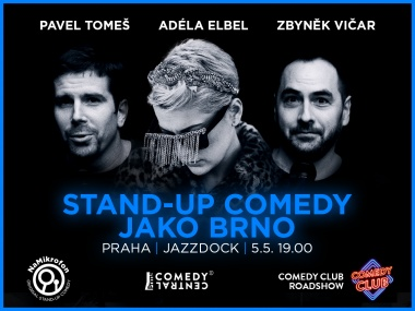 NaMikrofon - Real Brno stand-up comedy