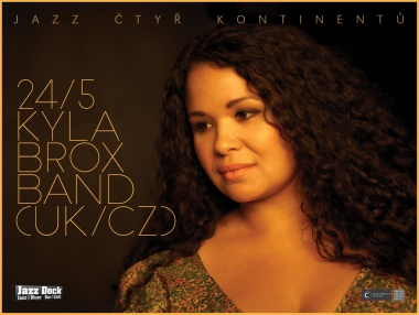 Kyla Brox Band (UK/CZ):JAZZ OF FOUR CONTINENTS