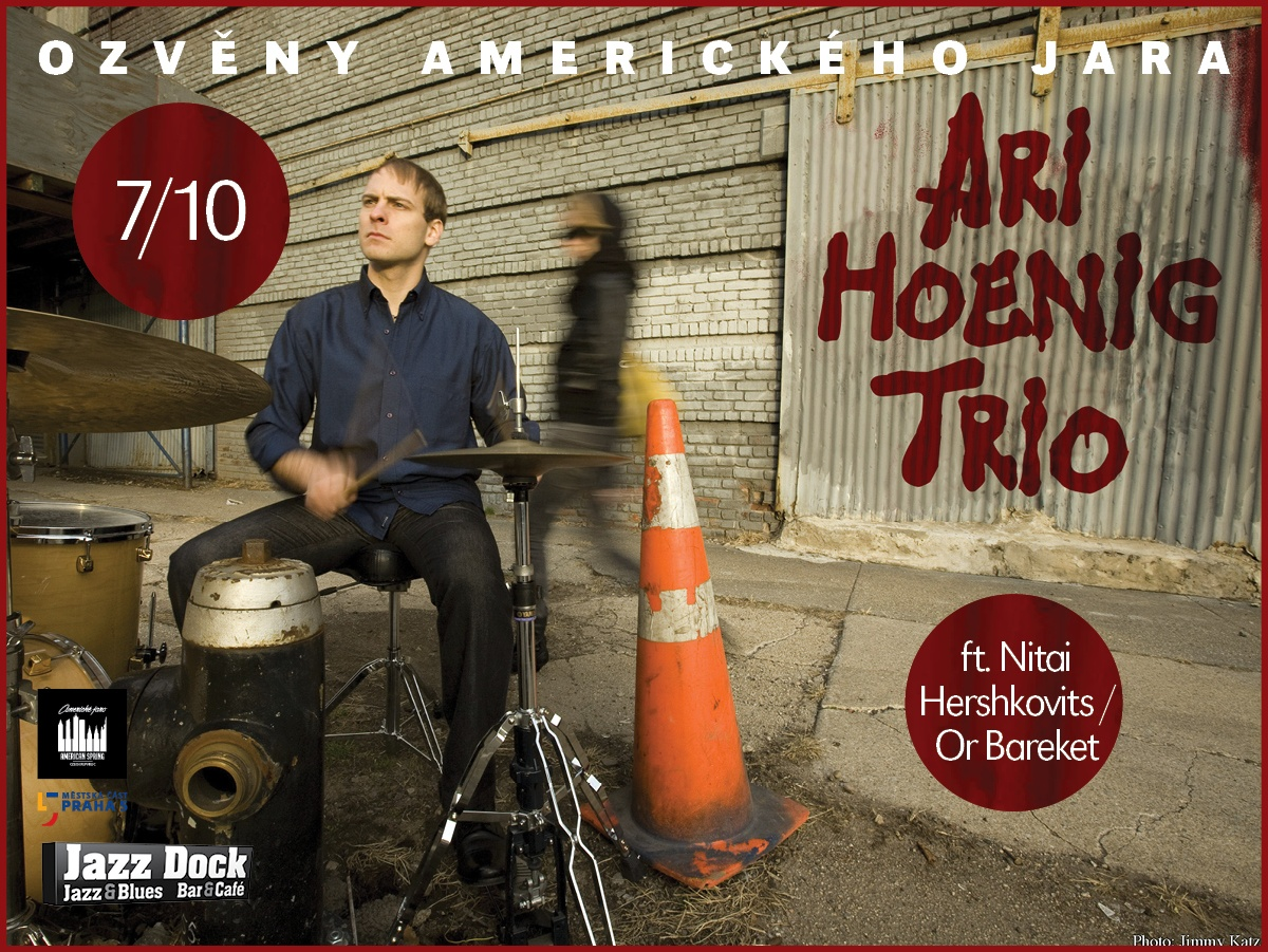 Ari Hoenig Trio: ft. Nitai Hershkovits / Or Bareket (USA/IL)::ECHOES OF THE AMERICAN SPRING