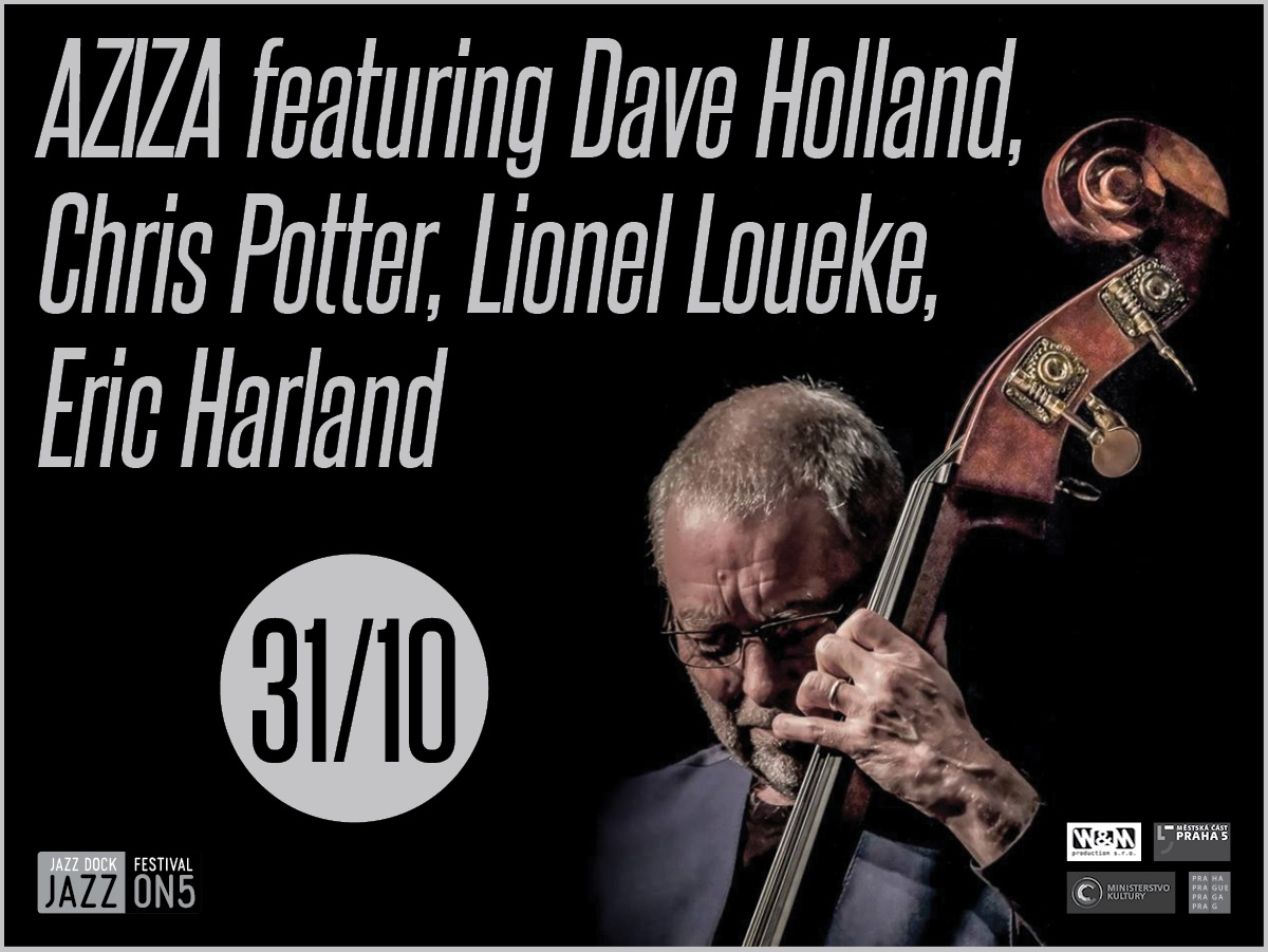 AZIZA featuring Dave Holland, Chris Potter, Lionel Loueke, Eric Harland (UK/USA) :JAZZ ON5
