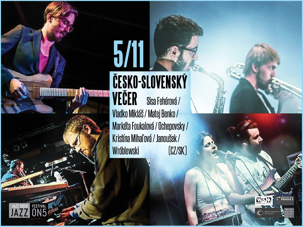 Czech-slovak Music Evening (CZ/SK) : JAZZ ON5