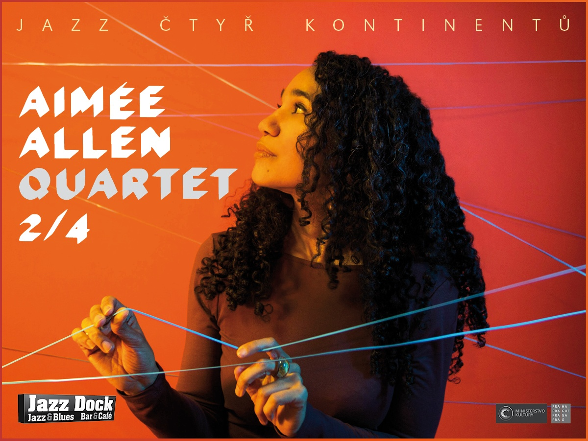 Aimée Allen Quartet (USA/CZ):JAZZ OF FOUR CONTINENTS