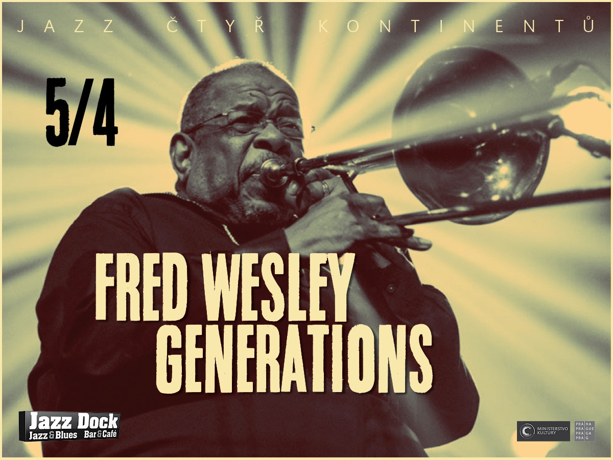 Fred Wesley Generations (USA/F/I) JAZZ OF FOUR CONTINENTS