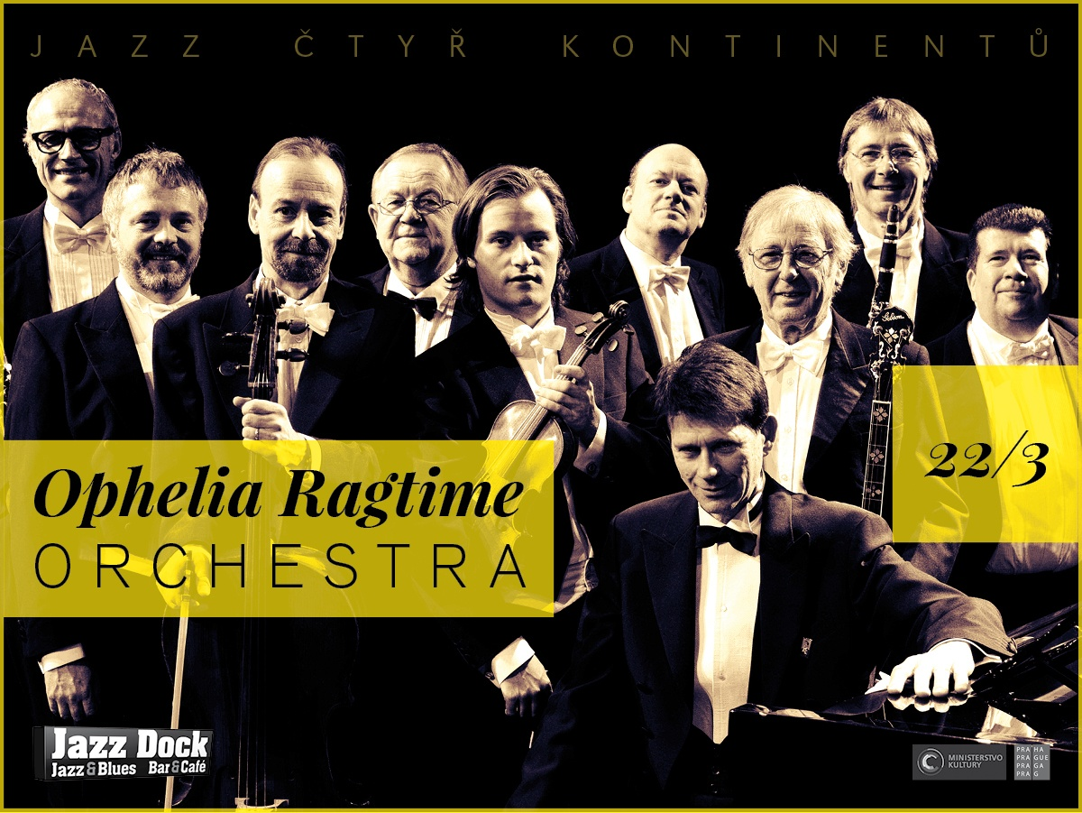 Ophelia Ragtime Orchestra:JAZZ OF FOUR CONTINENTS