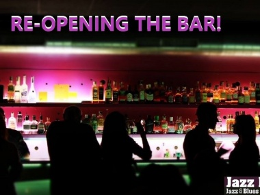 Re-opening Jazz Dock Bar!